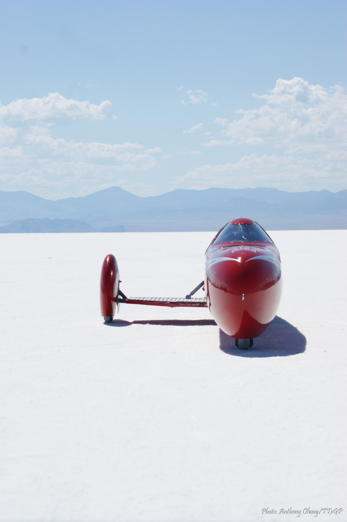 KillaJoule at Bonneville. Photo: Anthony Olway/TTxGP